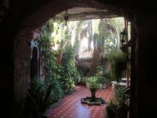 looking-onto-the-shaded-courtyard-moors-house-caceres