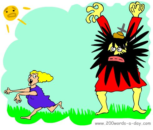 spanish-verb-aterrorizar-terrify