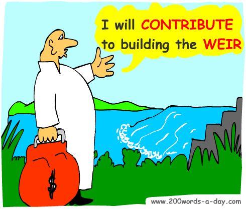 spanish-verb-contribuir-contribute