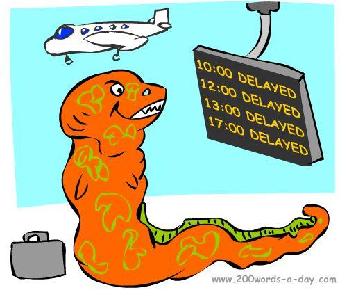 spanish-verb-demorar-delay