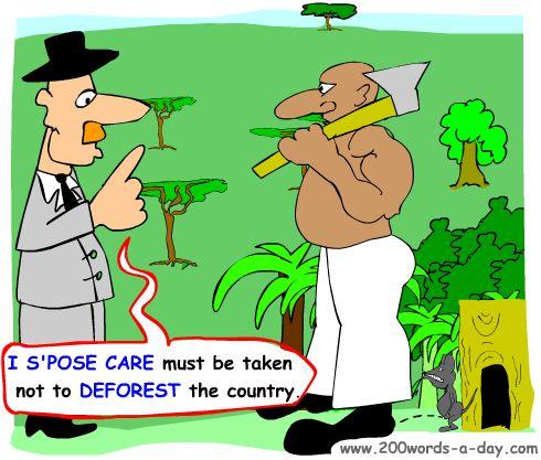 italian-verb-to-deforest-disboscare