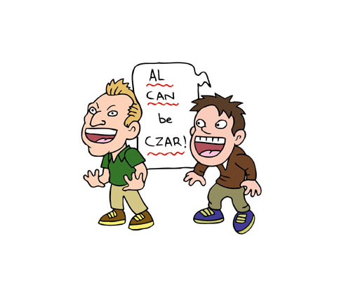 Spanish verb alcanzar - to reach