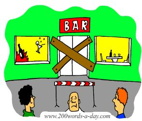 french-verb-to-bar-is-barrer