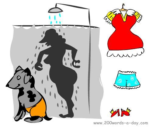 spanish-verb-duchar-shower