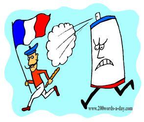 french-verb-vaporiser